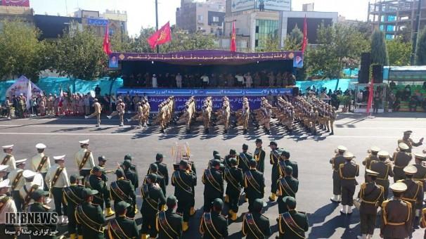 رژه نیروهای مسلح در مشهد+تصاویر