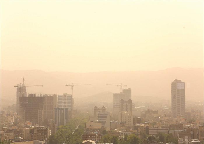 مشهد برای دهمین روز پیاپی آلوده است